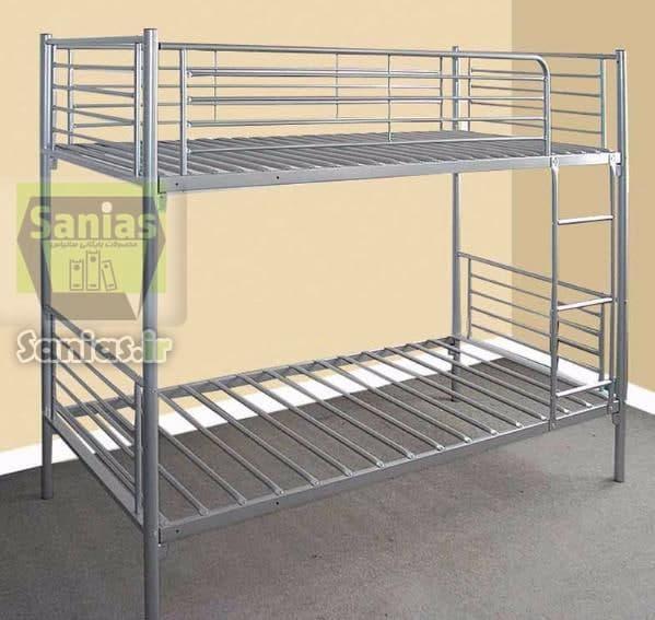 تخت فلزی دو طبقه