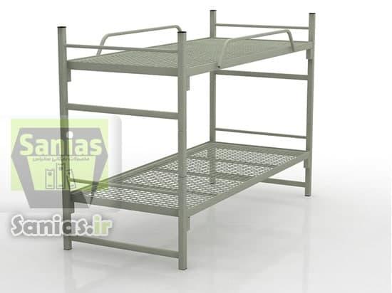 تخت فلزی ساده