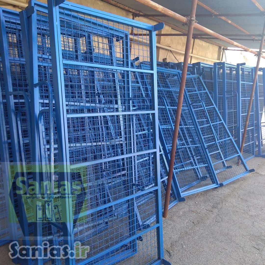 فروش تخت فلزی دوطبقه دانشجویی