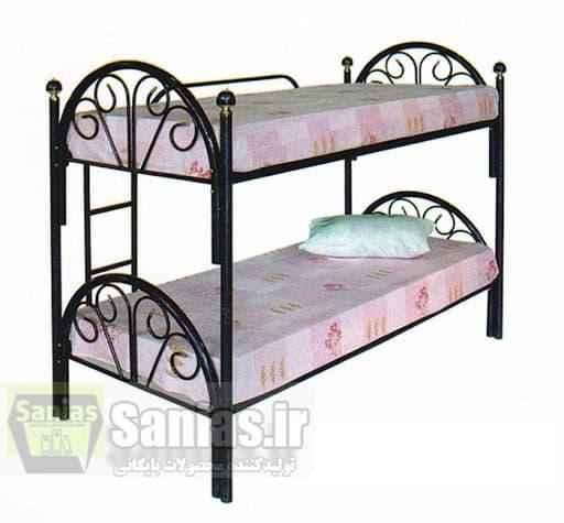 قیمت تخت دوطبقه فلزی