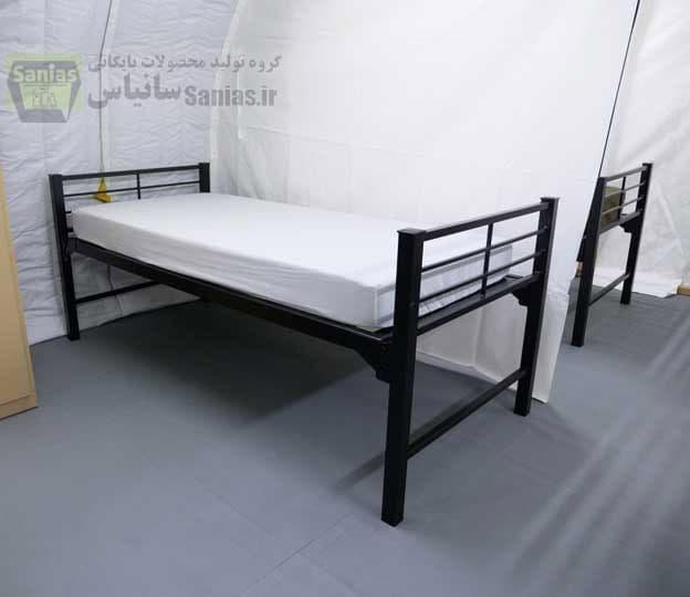 تولید تخت سربازی فلزی