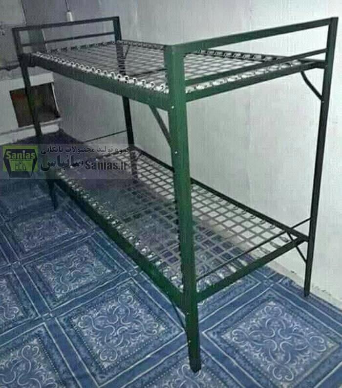 تخت فلزی خوابگاهی